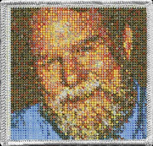 Rick's photo in a merit badge mosaic