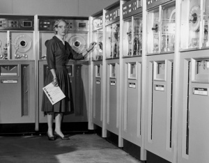 Grace Hopper at Univac with COBOL Report