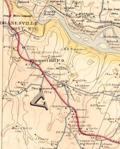 excerpt: Baist's map of the vicinity of Washington D.C., 1904