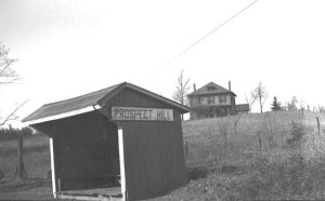 Prospect Hill trolley station, undated