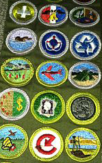 Merit Badges, Douglas Murth/Wikimedia Commons